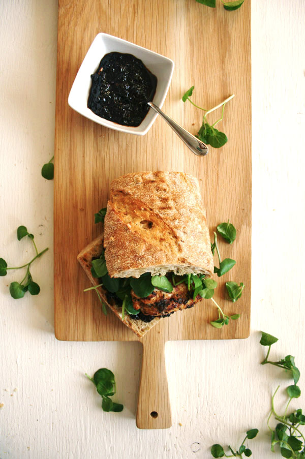 Cajun Chicken and Smoked Chilli Jam Sandwich