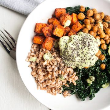 Autumn Nourish Bowl with Roasted Swede