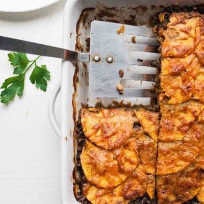 Lentil and Sweet Potato Lasagne