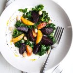 Beetroot and Blood Orange Salad with Labneh