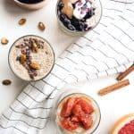 Quinoa Chia Pudding 3 Ways