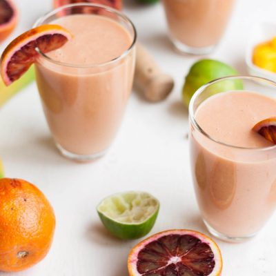 Blood Orange and Mango Smoothie