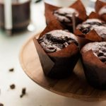 Double Chocolate Sweet Potato Muffins - these easy to make muffins are a chocolatey indulgence and are super moist thanks to the addition of mashed sweet potato! You have to try them! | eatloveeats.com