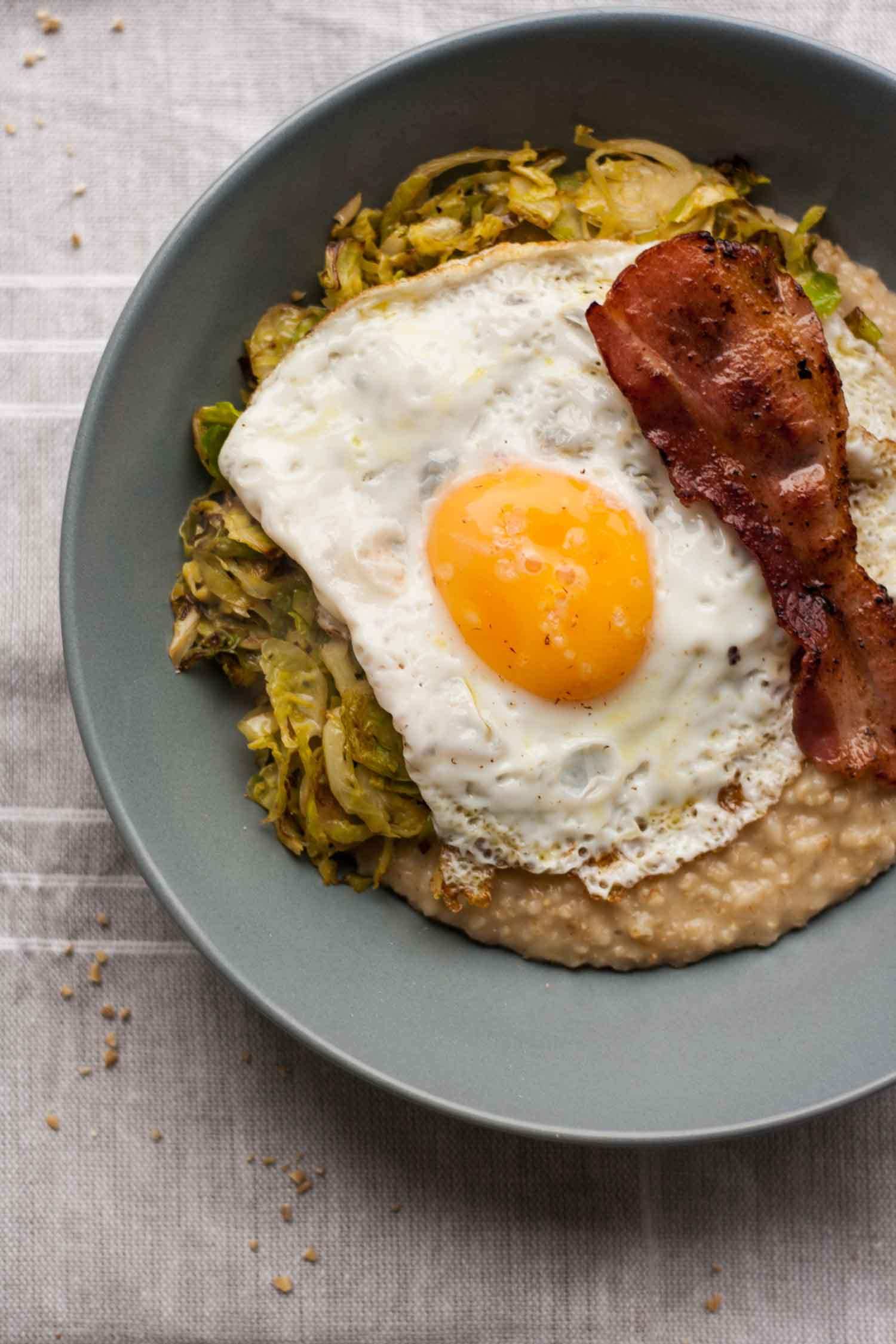 recipe: savory oatmeal with egg recipe [18]