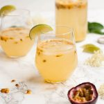 Passionfruit and Elderflower Fizz
