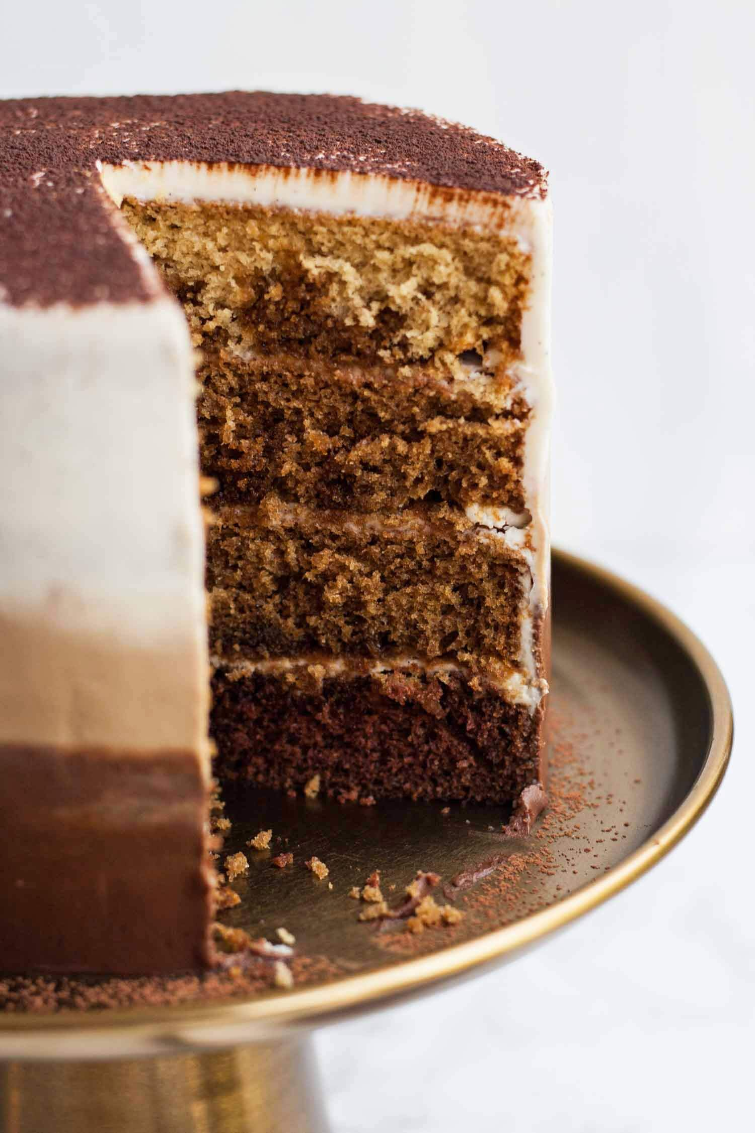 Cocoa Powder Coffee Cake