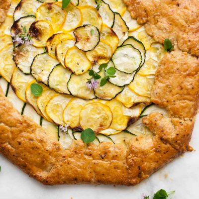 Mexican Courgette and Ricotta Galette