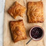 Spiced Leftover Turkey Cranberry Pastries
