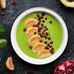 Clementine Green Smoothie Bowls