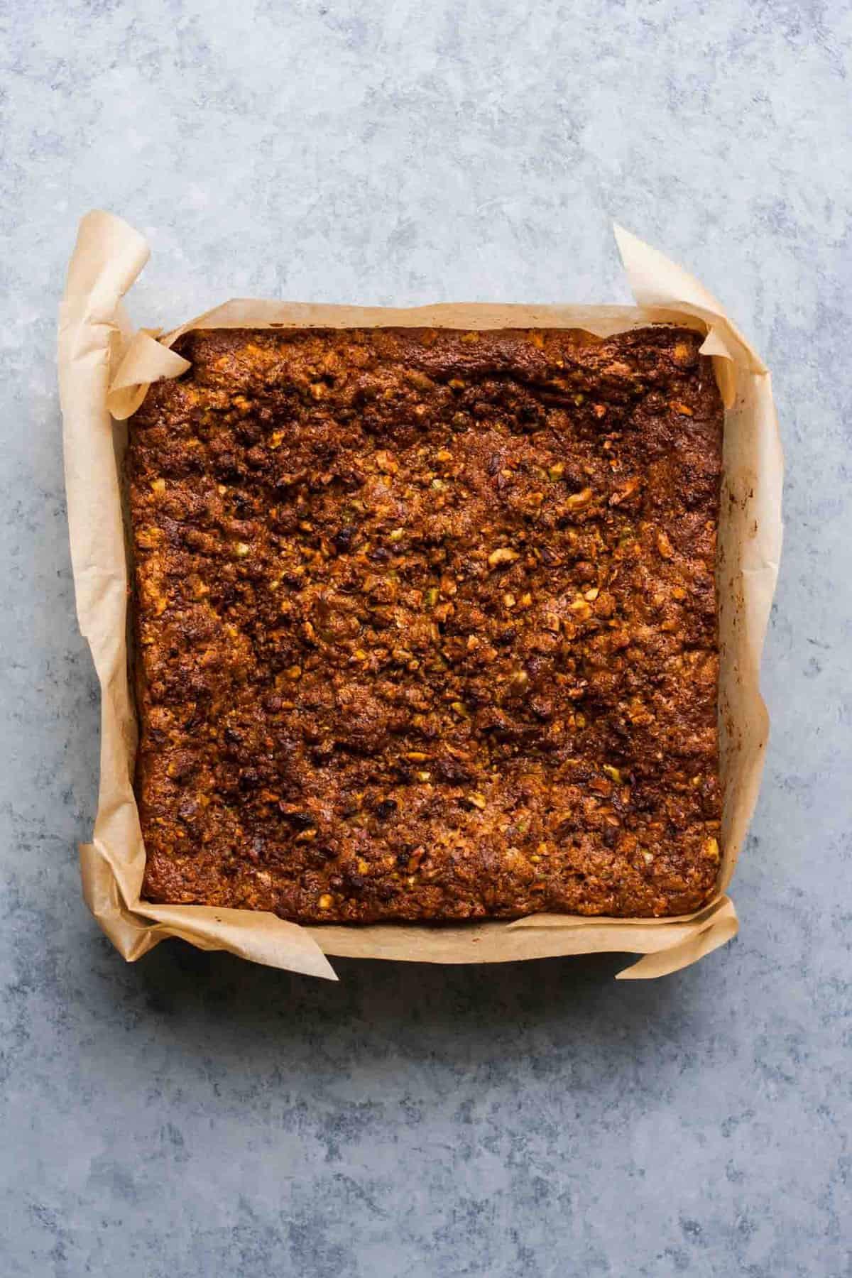 Rhubarb Pistachio Greek Yoghurt Cake | Baking | Desserts | Streusel | Coffee Cake