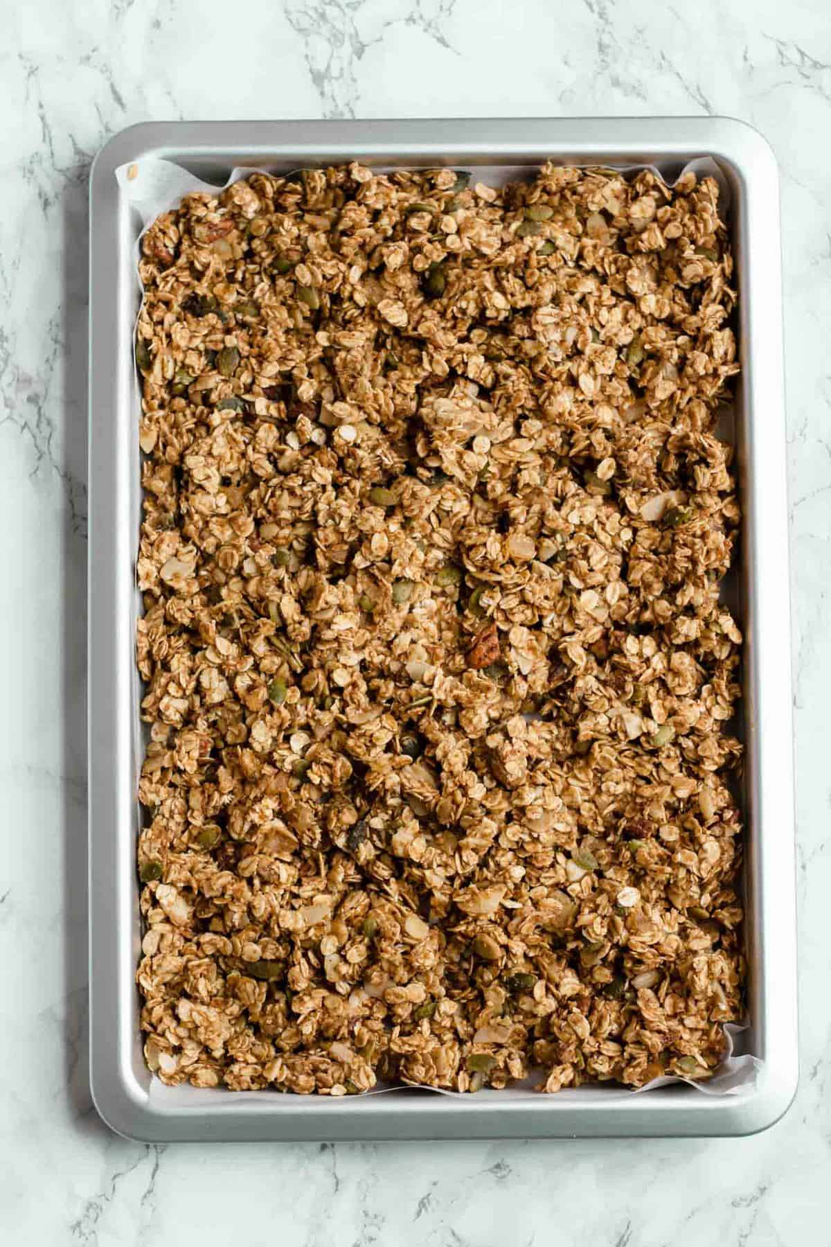 Healthy Granola Dates and Ginger