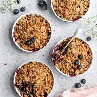 Blueberry Pecan Crisp
